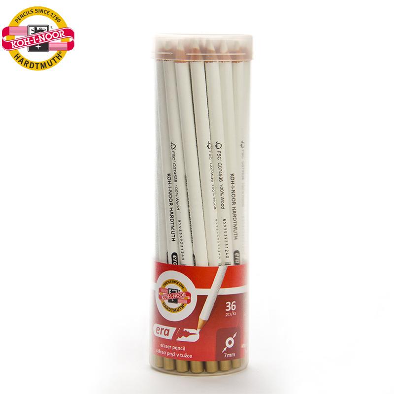 捷克酷喜乐笔形高光橡皮笔橡皮擦专业美术素描不易留痕进口美术生绘画专用笔型笔式象皮像皮擦学生画材用品