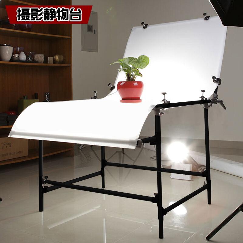 静物台摄影台1*2米静物拍摄台拍摄工作台淘宝摄影桌子翻拍台倒影板摄影棚静物台100*200cm拍照桌子产品拍摄台