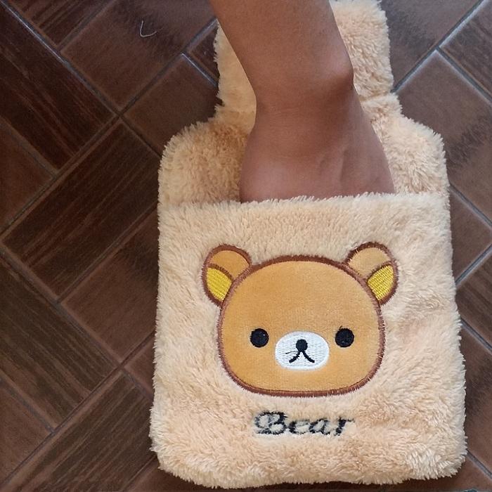 卡通毛絨注水熱水袋絨布沖水隨身暖手寶加厚可插手充水可愛暖水袋