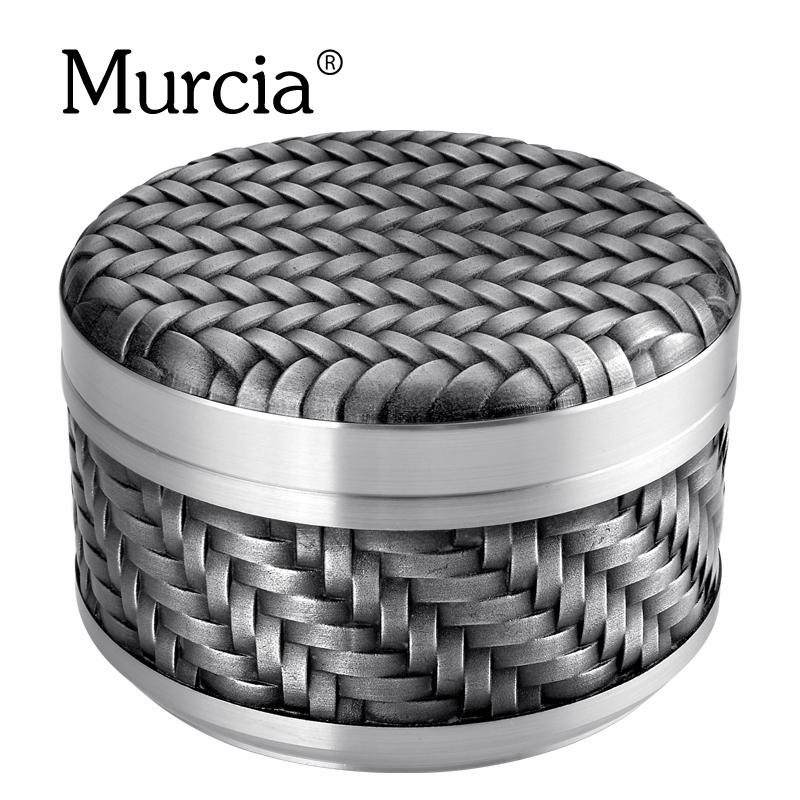 murcia純錫制茶葉罐大小金屬便攜密封防潮保鮮裝茶葉錫罐包郵