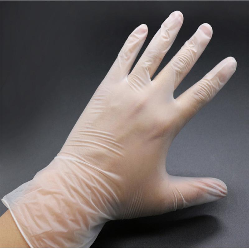 一次性PVC無粉手套 食品加工 烘焙DIY 不含乳膠20只裝 大小號
