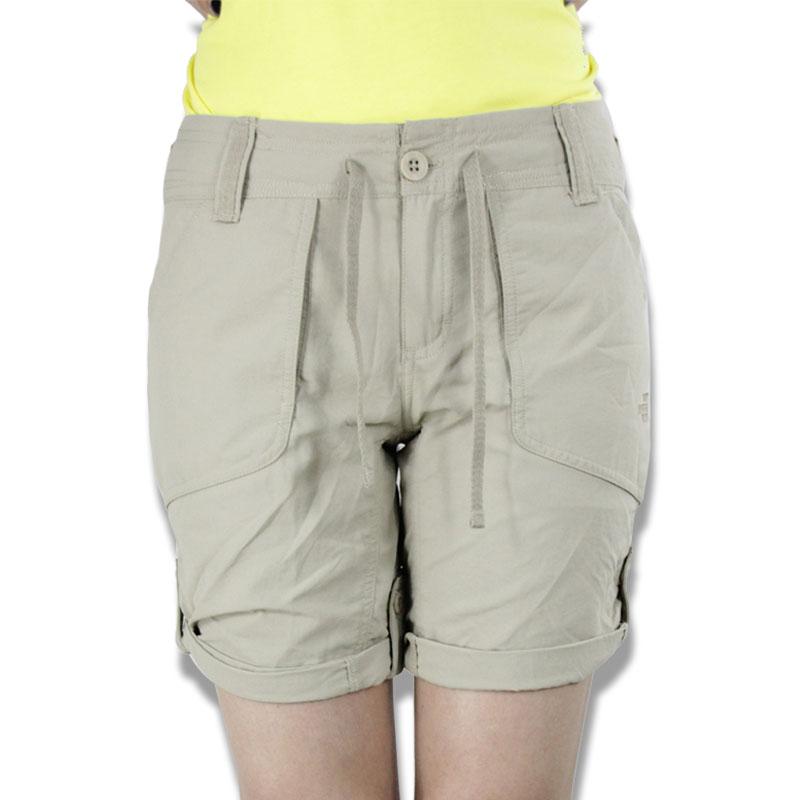 樂斯菲斯THE NIRTH FACE/北面女子戶外透氣速干休閒短褲A01T