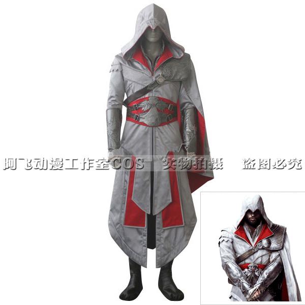 刺客游戏cos Ezio刺客兄弟会艾吉奥代阿泰尔的信条cosplay男装