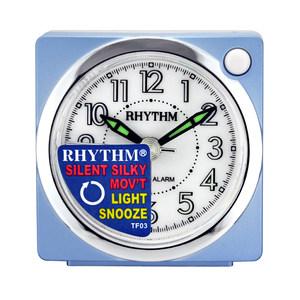 丽声(RHYTHM)时尚小闹钟床头可爱小闹钟CRE820NR04