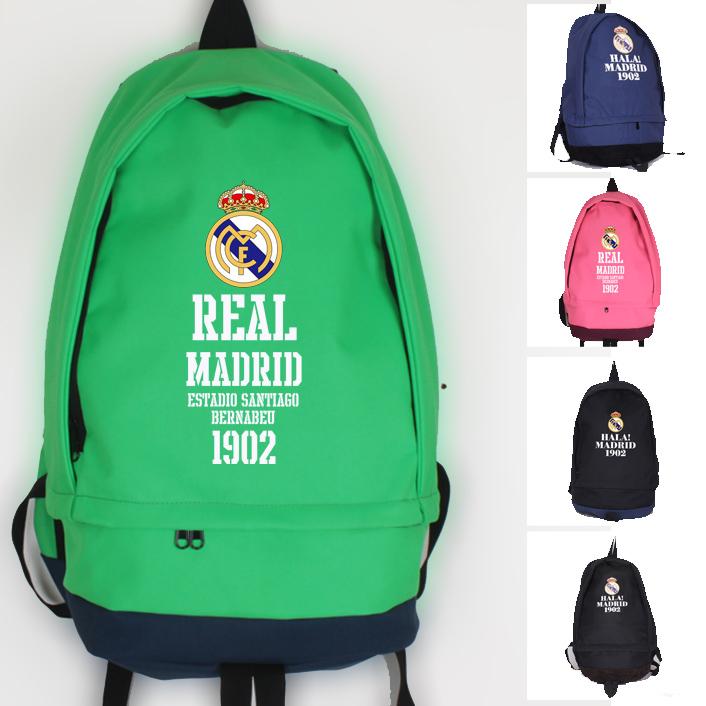 皇馬雙肩揹包 書包球鞋包足球包足球訓練包足球雙肩包足球裝備包