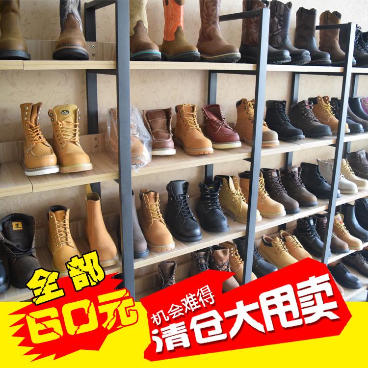 特價勞保鞋庫存安全鞋線縫鞋馬丁靴高筒靴工裝鞋真皮鞋大碼鞋。