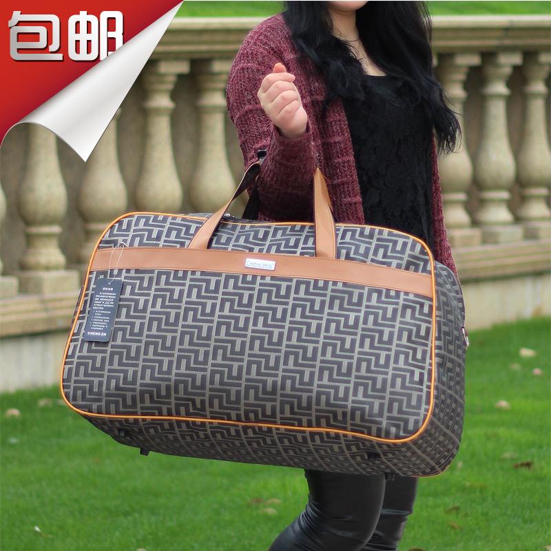 包郵超大容量防水旅行袋時尚韓版手提包單肩行李包收納袋男女摺疊