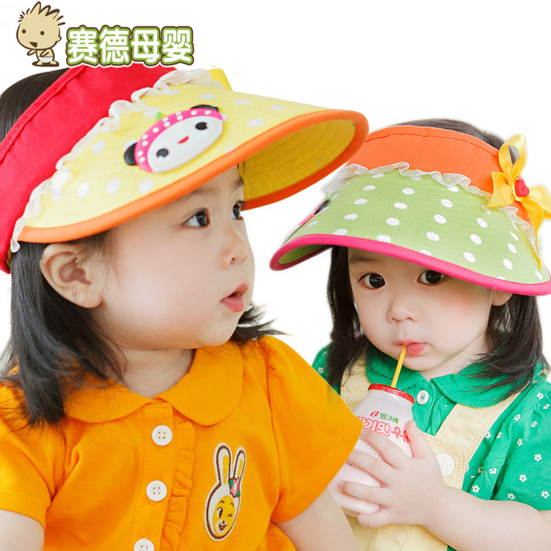 Buy Adjustable boys and girls large brim sun hat baby cap and empty top hat  summer hat korean children in autumn in Cheap Price on m.alibaba.com af435966b38