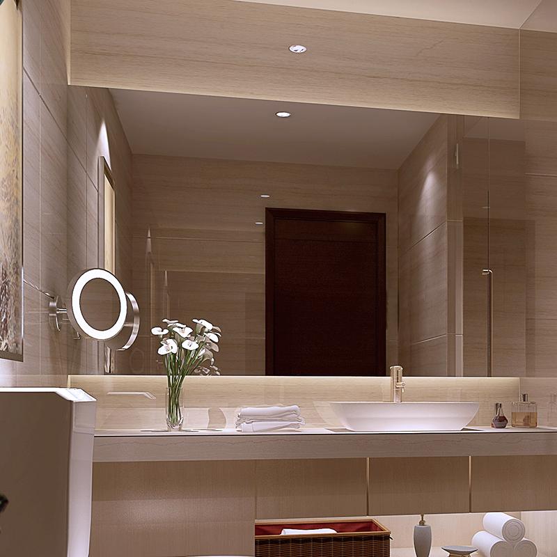 Aili Name Mirror Bathroom Fogging Led Backlight Illuminated Frameless Wall Custom In Price On