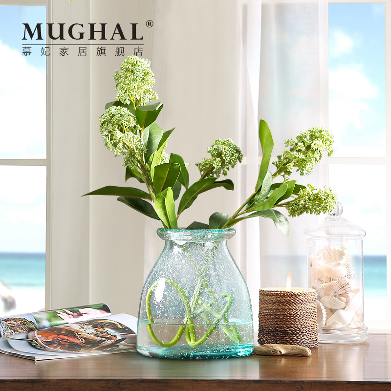 Buy American Glass Vase Flower Holder Home Accessories Ornaments