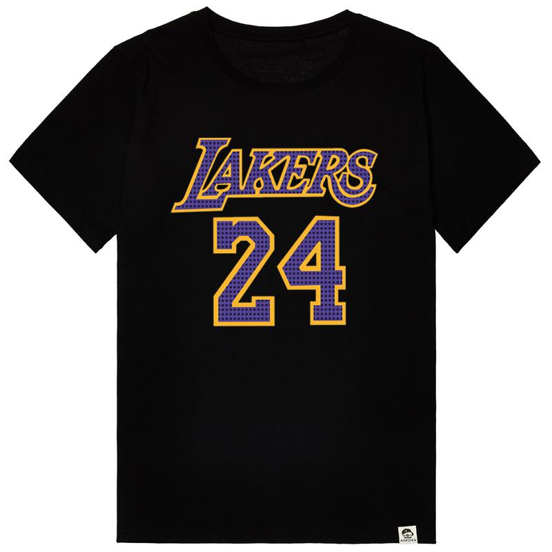 new product 12b4e 5aac4 Buy Retired commemorative t-shirt los angeles lakers kobe ...
