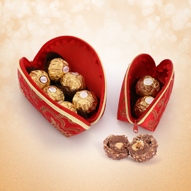 Apply Two And Tablets Ferrero Chocolate Wedding Gift Favor Candy Zero Food