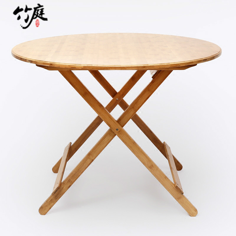 Buy Atrium Simple Table Home Portable Folding Table Dining Table Small  Apartment Modern Simple Square Table Round Table Leisure Table In Cheap  Price On ...