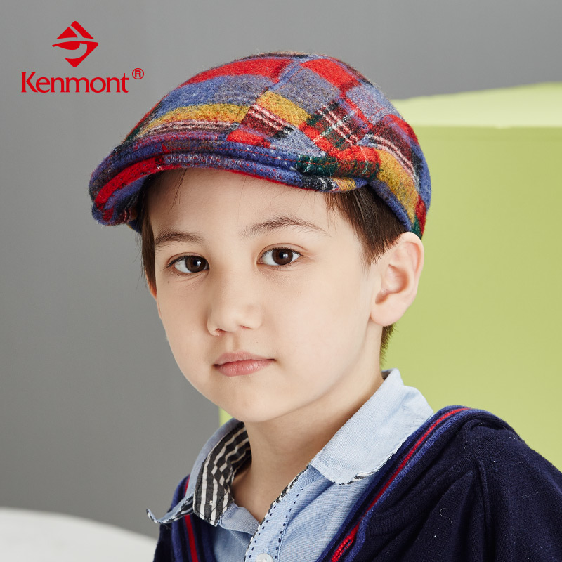 b4d6de921d Buy Autumn and winter hats for children aged six to nine boys beret beanie  hat small male child in winter woolen plaid cap in Cheap Price on  m.alibaba.com