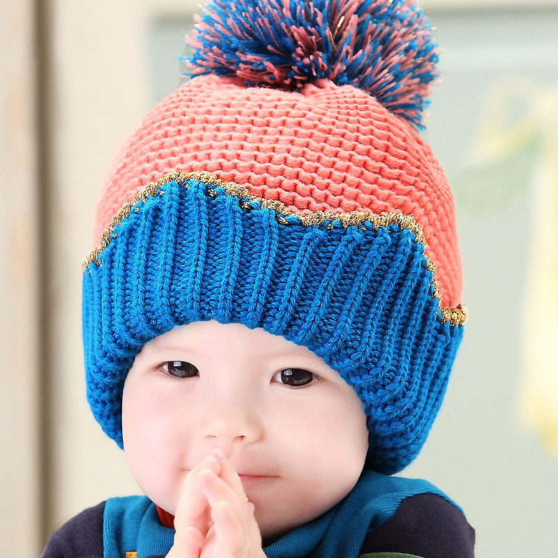 Buy Baby in autumn and winter hedging wool cap warm ear cap beanie baby hat  for boys and girls korea crown shipping in Cheap Price on m.alibaba.com 1297b24afd3