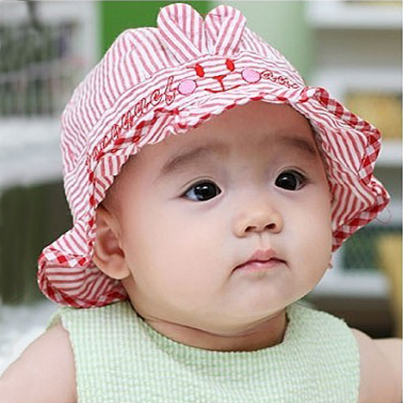 Buy Summer new korean cotton baby hat baby bucket hats grid children fish  cardiff hat sun hat free shipping in Cheap Price on m.alibaba.com 332c354f943