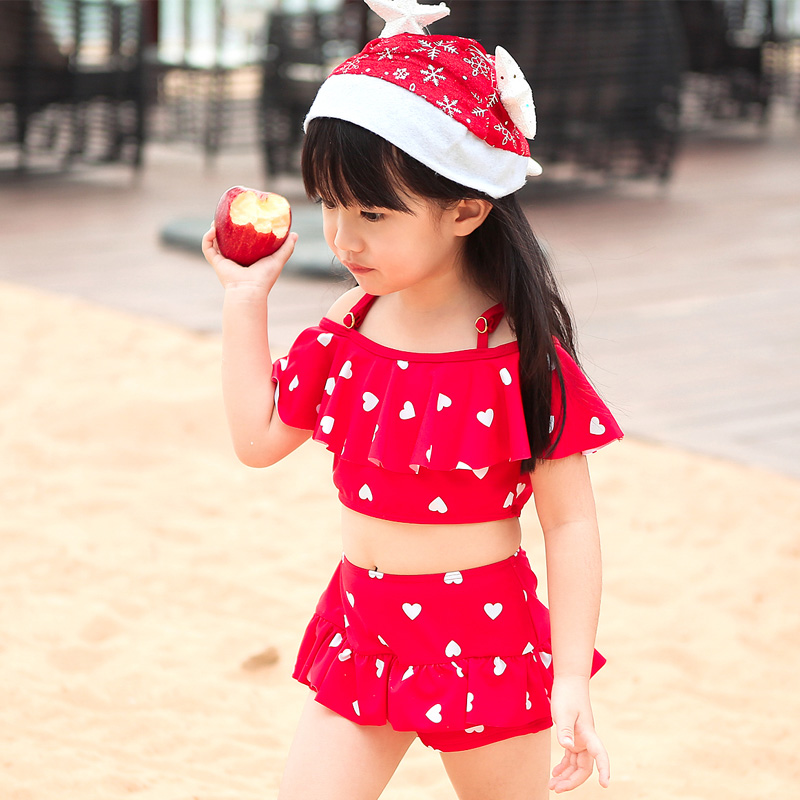 95e6ac556acc6 Betis swimsuit swimsuit small children in baby princess big boy child  children cute girls wave point siamese skirt swimsuit