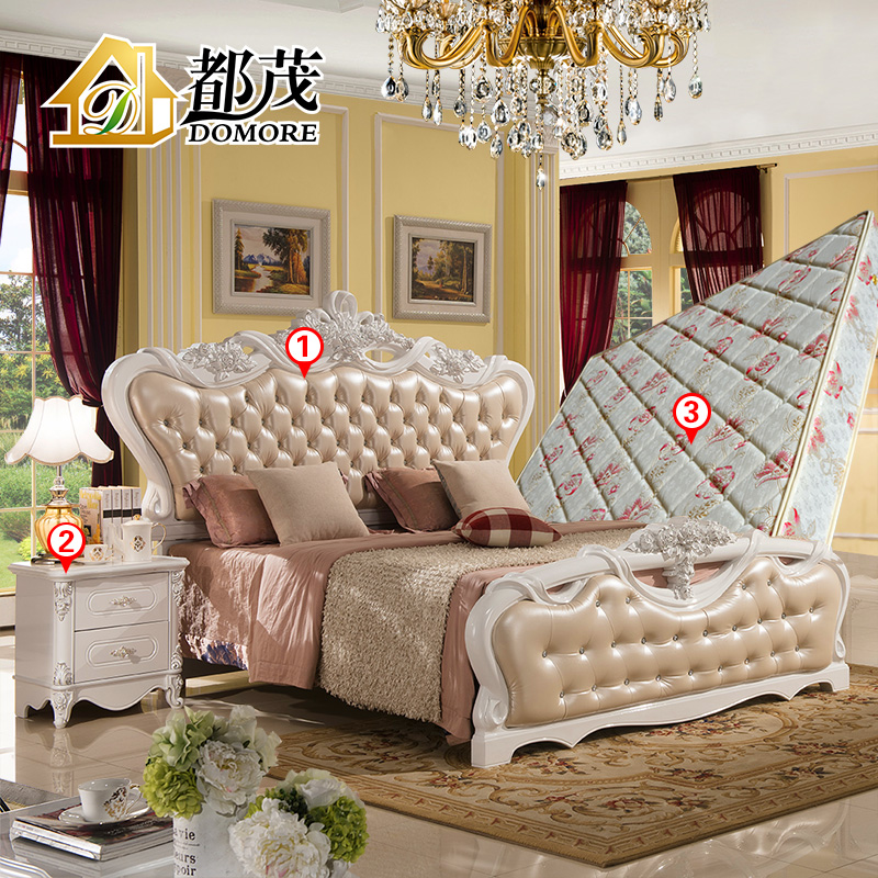 Buy Both mao french garden furniture continental bed 1.8 m princess ...