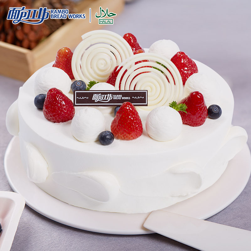 Stupendous Buy Bread Mania Snow Dance Korean Fruit Cream Cake Cream Cake Funny Birthday Cards Online Elaedamsfinfo