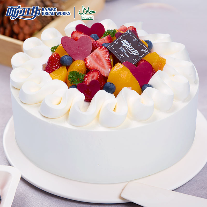 Buy Bread Workshop Xinyu Korean Fruit Cream Strawberry Cream Cake