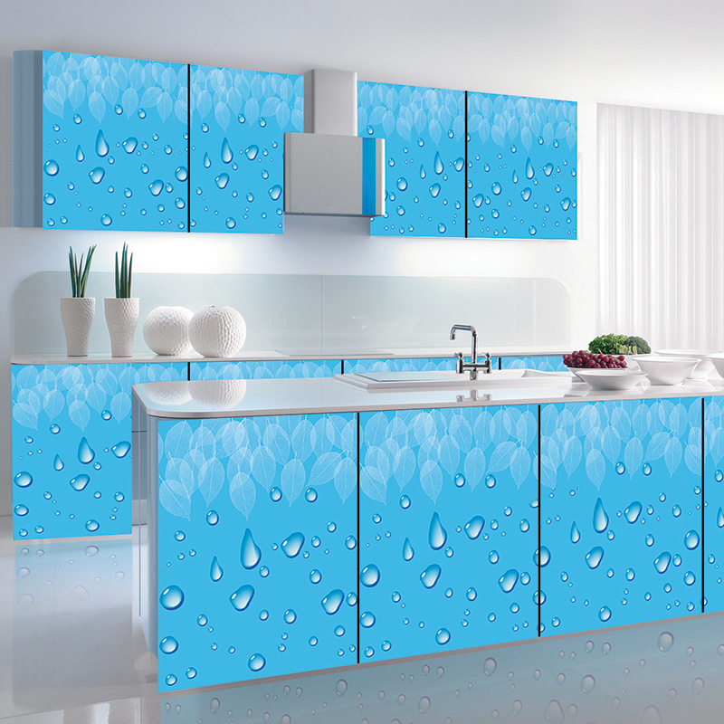 Buy Cabinet Doors Pvc Adhesive Stickers Refurbished Furniture Refurbished  Appliances Oilproof Waterproof Foil Sticker On The Back With Glue In Cheap  Price ...
