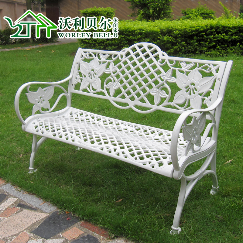 Buy Cast Aluminum Patio Chairs Park Bench Garden Bench Cast Aluminum Outdoor  Chairs Outdoor Leisure Chair Aluminum Does Not Rust In Cheap Price On ...
