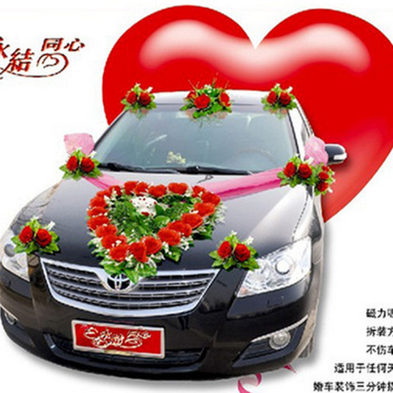Buy century wind personality korean love teddy bears artificial buy century wind personality korean love teddy bears artificial flowers wedding car decoration wedding suit wedding car essential supplies in cheap price on junglespirit Choice Image