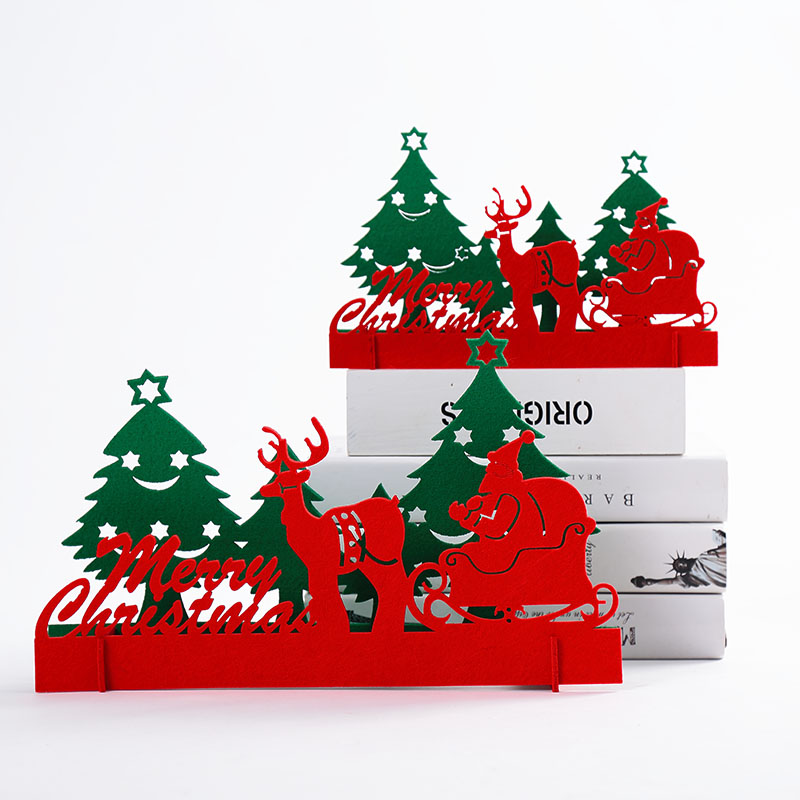 buy christmas decorations wovens desktop small mini christmas tree christmas deer pull car decoration in cheap price on malibabacom - Buy Christmas Decorations
