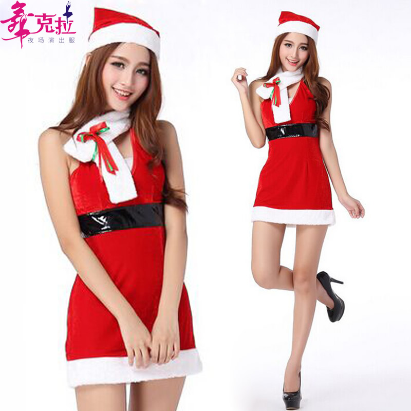 f8af945d5cdab Dance carat christmas costume sexy adult female cosplay costumes uniforms  temptation christmas dance party system