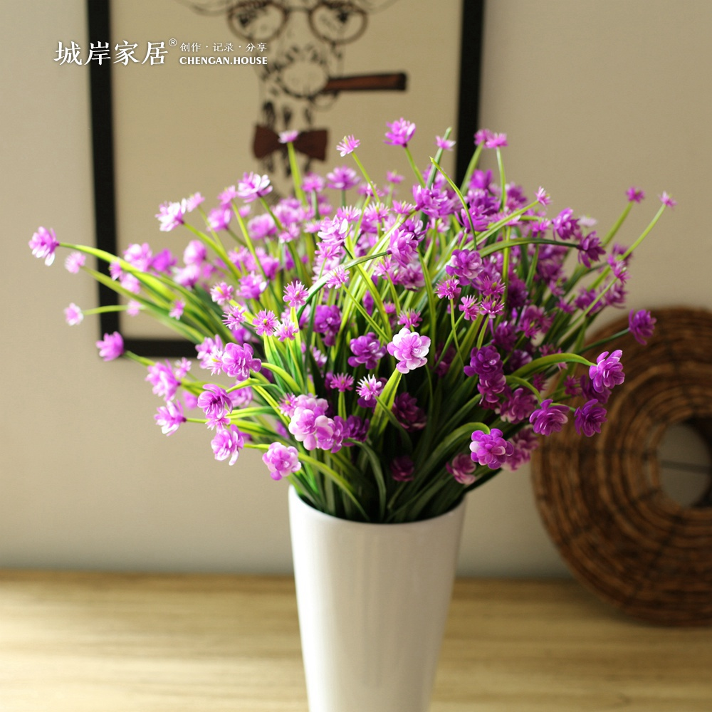 Buy city coast upscale spring grass cherry artificial flowers buy city coast upscale spring grass cherry artificial flowers artificial flower plastic flower decoration flower floral home decor in cheap price on izmirmasajfo