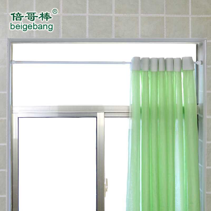 Buy Colombian times stick toilet bathroom shower curtain rod ...