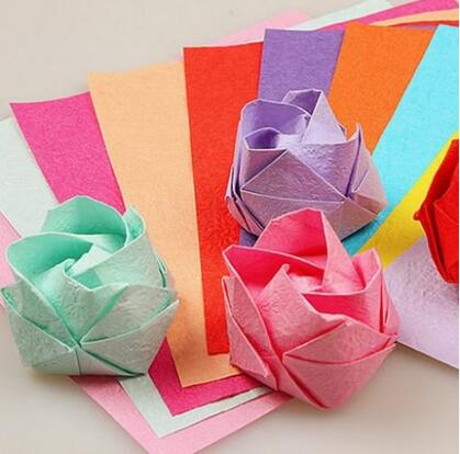EASY CHERRY BLOSSOM ORIGAMI - A Knack For Crafts | 414x419