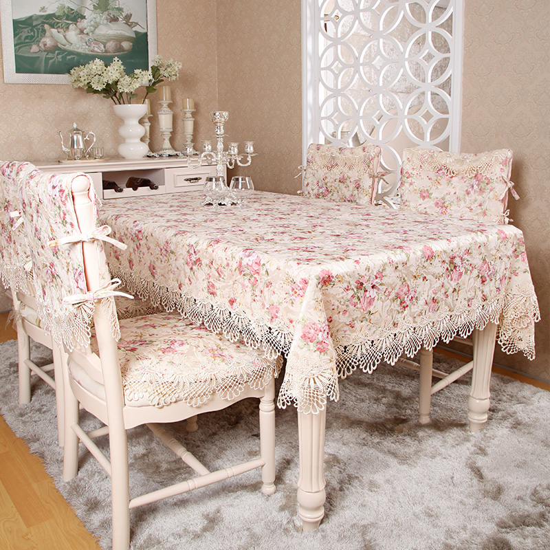 Crafts Water Soluble Lace Table Cloth Table Cloth Cover Bedside Table Cloth  Pastoral Coffee Table Cloth Tablecloth Round Tablecloth