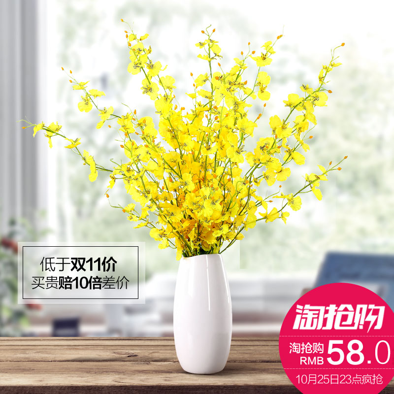 Creative Fashion Modern Minimalist Living Room Floor Dried Flower Ornaments Home Decorations Ceramic Vase Fl In Price On M Alibaba