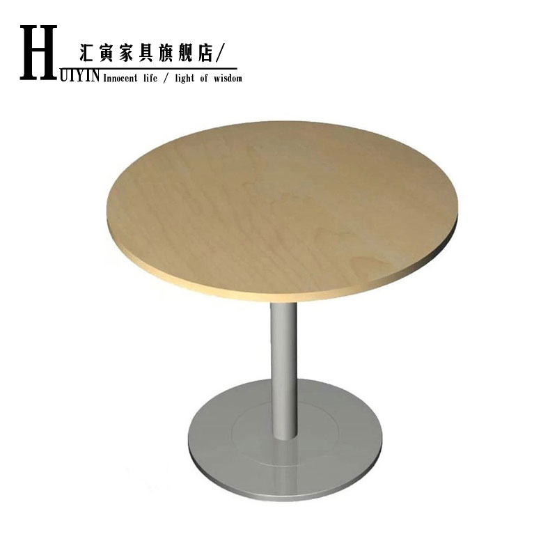 Buy Department Of Yin Small Glass Round Table Negotiating Tables And - Small glass conference table
