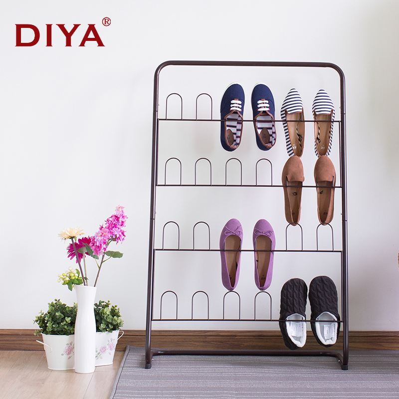 Buy Diya Multilayer Simple Shoe Rack Shoe Rack Hanging Storage Retractable  Iron Off The Living Room Bathroom Slippers With Verticle Shoe Racks In  Cheap ...
