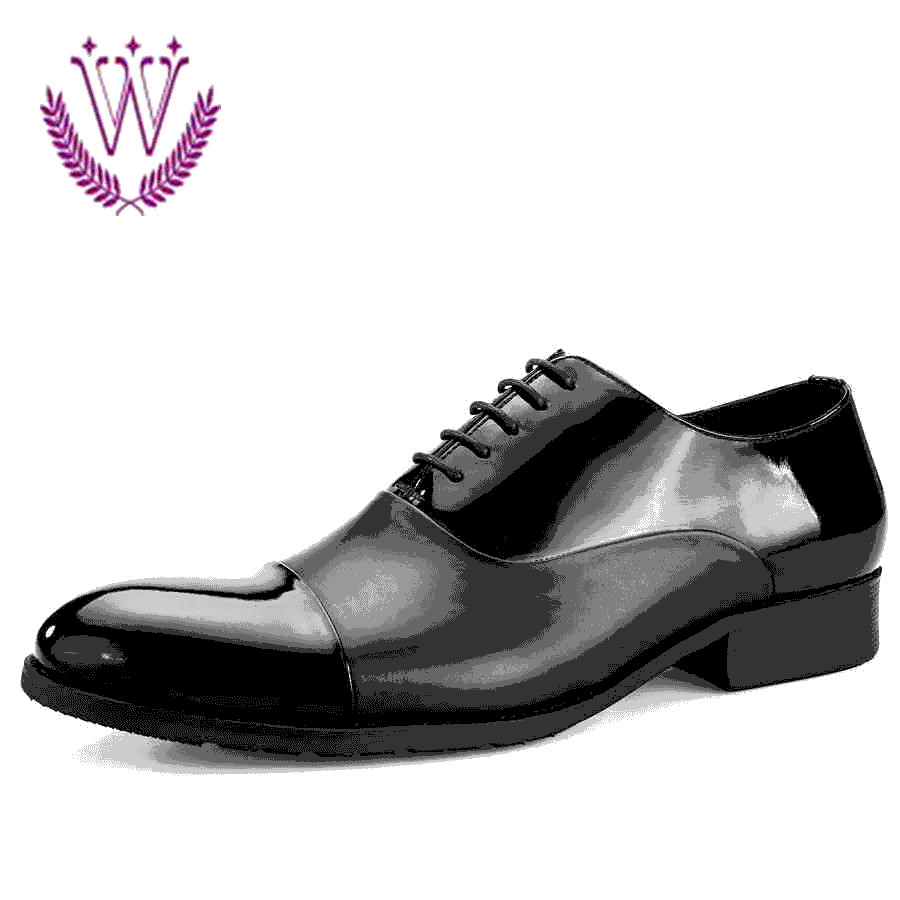 1cf5f61a7181a1 Buy Each purchase meeryco d Atilde  copy by new patent leather shoes  men  39 s lace shoes british business dress shoes pointed shoes child in  Cheap Price on ...