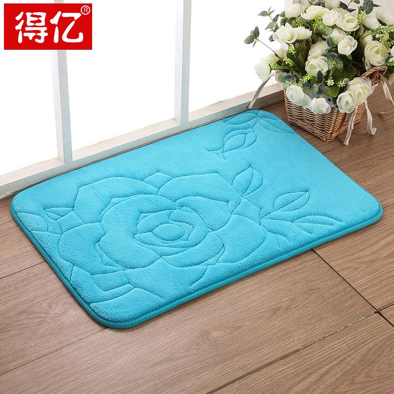 Buy Environmental Protection Mat Slow Rebound Memory Foam Absorbent