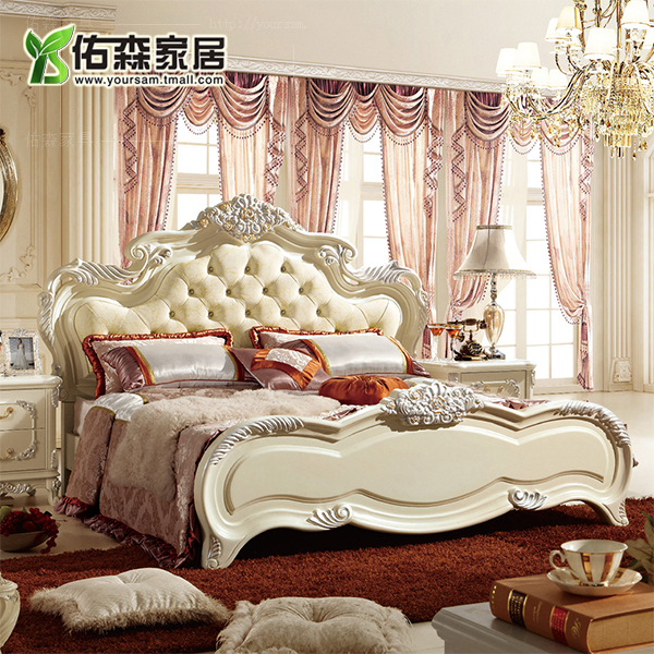 Buy european solid wood bedroom furniture suites of furniture