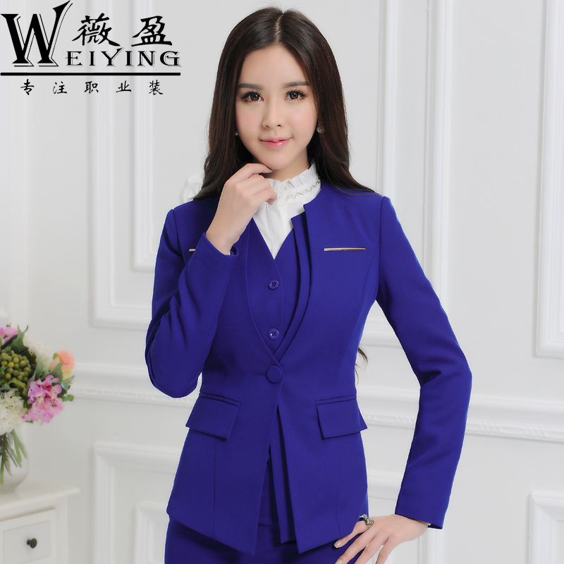 Buy Fall And Winter Clothes Women Wear Long Sleeve Ol Suit Vest Suit