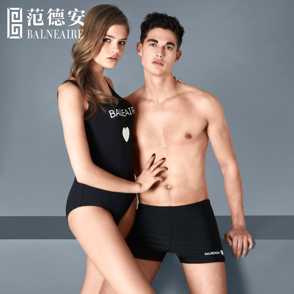c476ffd584fc5 Buy Fan dean swimsuit hot springs resort suit lovers swimsuit small chest  gather siamese boxer female swimsuit sports men and speedos in Cheap Price  on ...