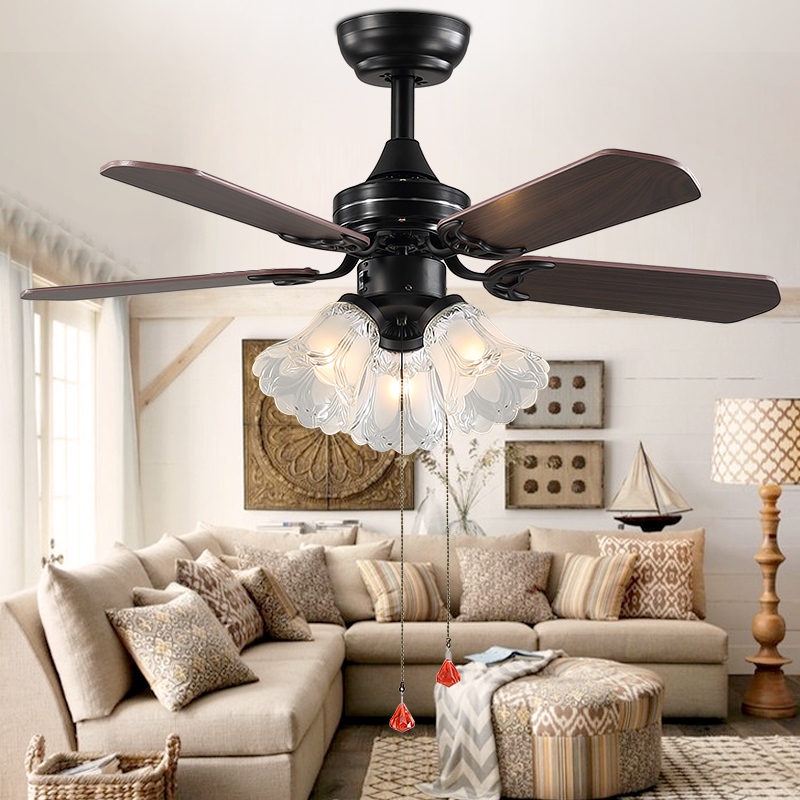 Reasonable Led Ceiling Fan Light Dining Room Living Room American Minimalist Modern Ceiling Fan Light Lights & Lighting Ceiling Lights & Fans