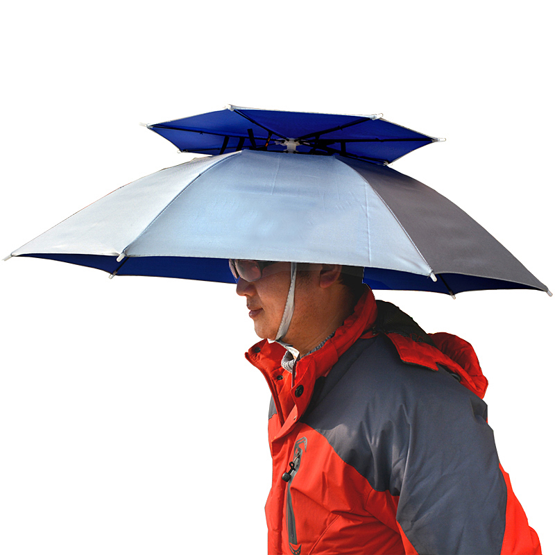ef5fdd13762f Buy Fish fishing umbrella rain oxford double sunscreen uv breathable ...