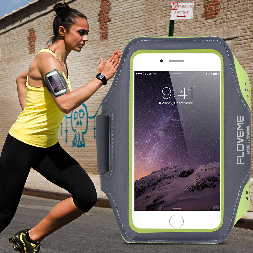 official photos 227dd cfc79 Buy Fitness arm arm band mobile phone sets apple s 6/6 s plus ...