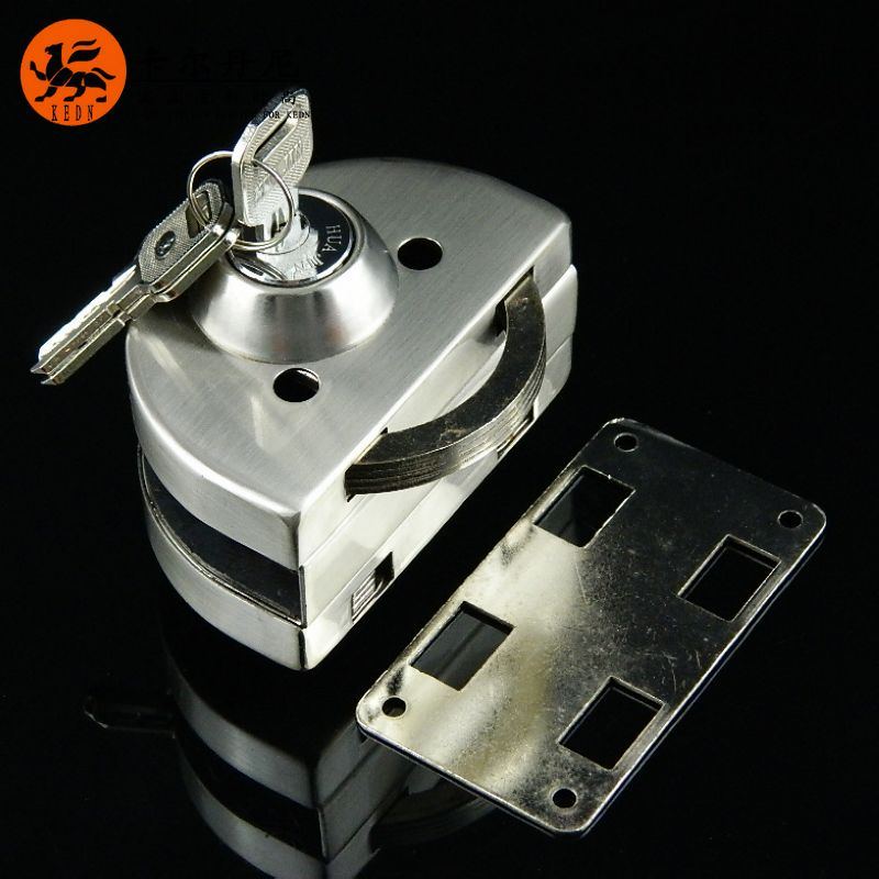 Frameless Glass Door Central Lock Sliding Single Open In On M Alibaba Com