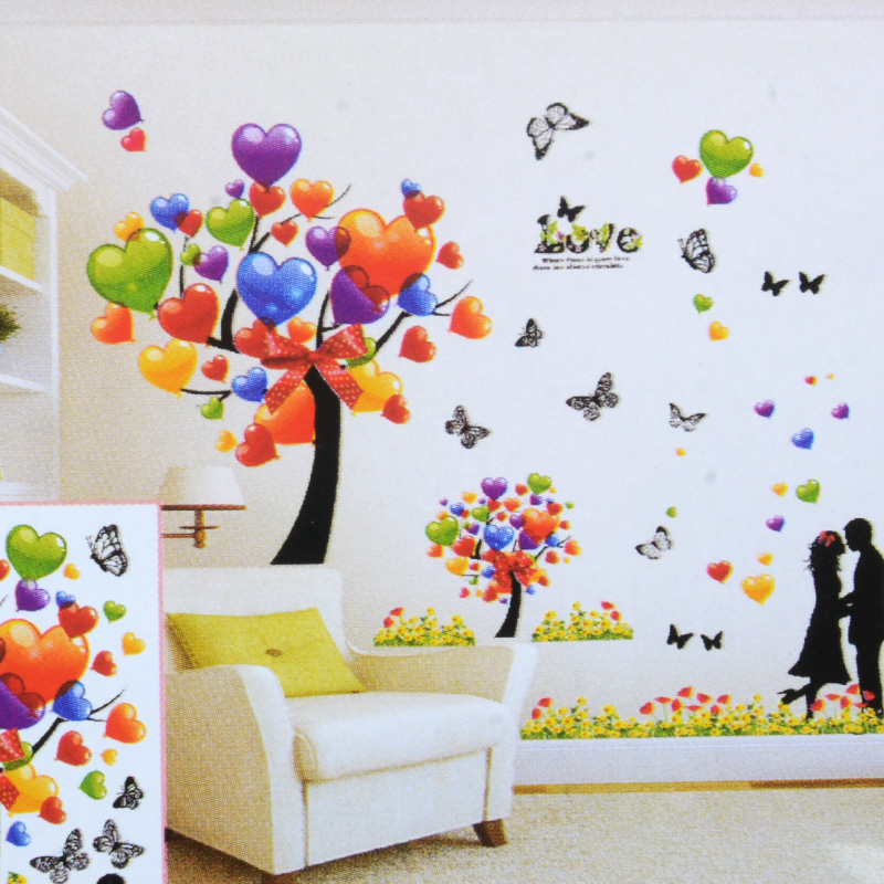 Buy Free Shipping 3d Stereoscopic Wall Stickers Living Room Bedroom