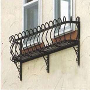 balcony flower baskets Buy Free Shipping Home Happy Outdoor Wrought Iron Balcony