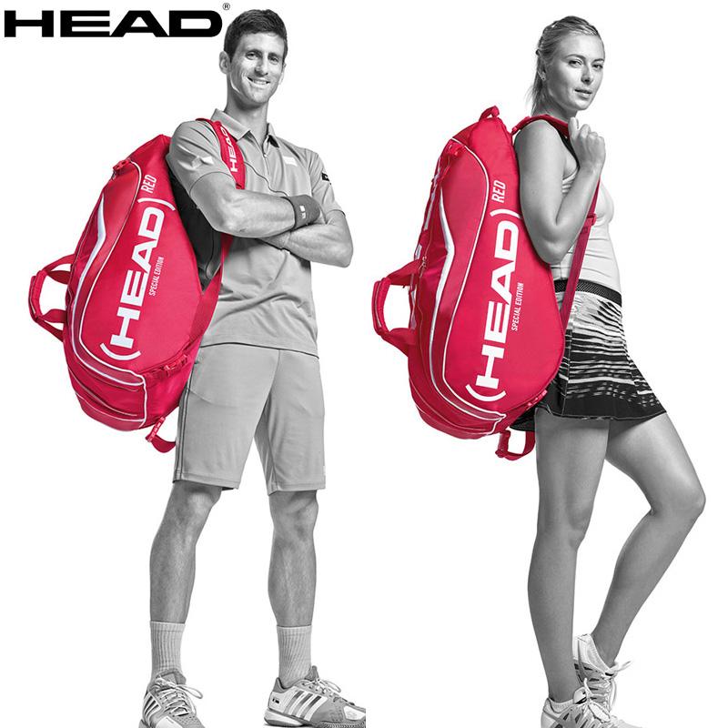 Buy Genuine Hyde Head Red Limited Edition 6 Sharapova Novak Djokovic Tennis Bag Tennis Racket Bag Loaded In Cheap Price On Alibaba Com