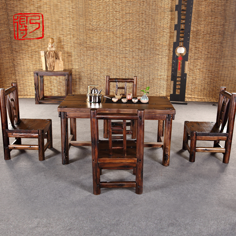 Buy Grace Shicao Tea Coffee Table Tea Table Tea Table And Chair Combination  With A Simple Wooden Boat Wooden Tea Sets Tea Table Tea Cooker Wood Tea  Sets In ...