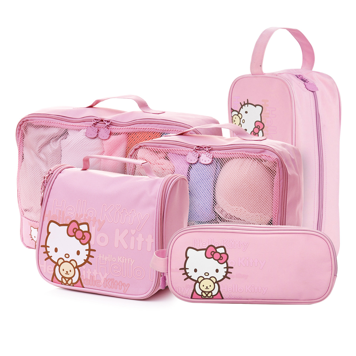 79bde91bfa2a Buy Hello kitty hello kitty cosmetic bag cute blue orange travel toiletry  kits suit female income carolina package travel goods in Cheap Price on  Alibaba. ...